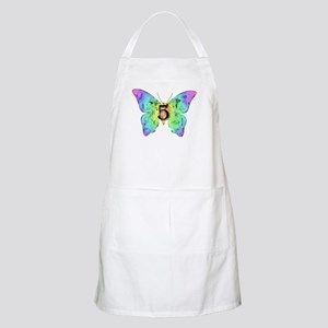 Baby is Five - 5 Months? or 5 Years? Apron