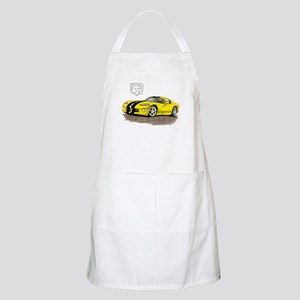 Viper Yellow/Black Car BBQ Apron