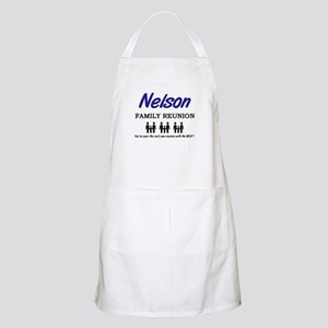 Nelson Family Reunion BBQ Apron