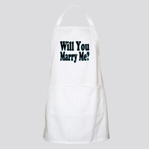 Will You Marry Me? His BBQ Apron
