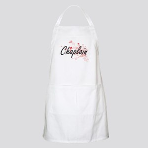 Chaplain Artistic Job Design with Hearts Apron