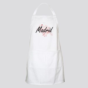 Madrid Spain City Artistic design with butte Apron