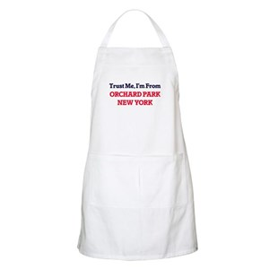 Trust Me, I'm from Orchard Park New York Apron
