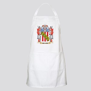 Nelson Coat of Arms - Family Crest Apron