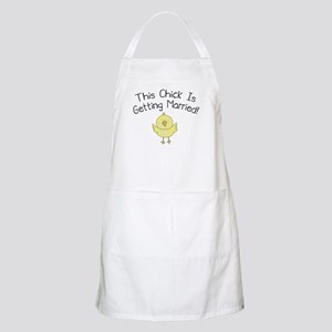 This Chick is Getting Married Apron