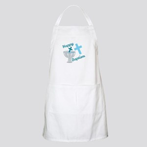 Happy Baptism Apron