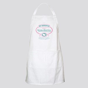 My Daughter Proudly Serves - Navy Mom Apron