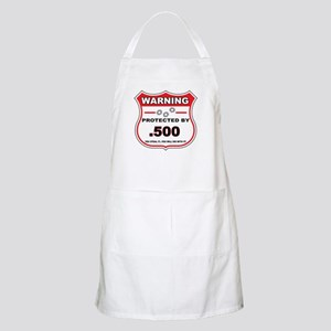 protected by 500 shield Apron