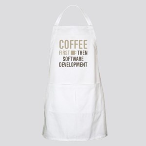 Coffee Then Software Development Apron