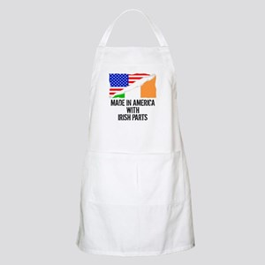 Made In America With Irish Parts Apron