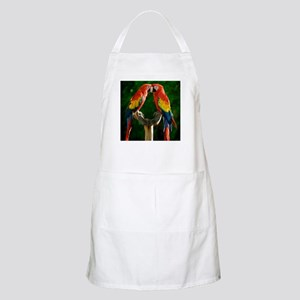 Beautiful Parrots Apron