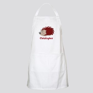 Personalized Hedgehog Apron