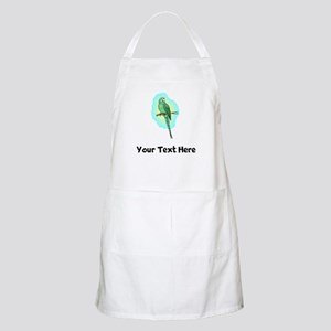 Green Conure Bird (Custom) Apron