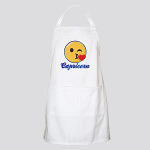 Emoji Capricorn Horoscope Light Apron