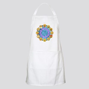 Emoji Circle Horoscopes Light Apron