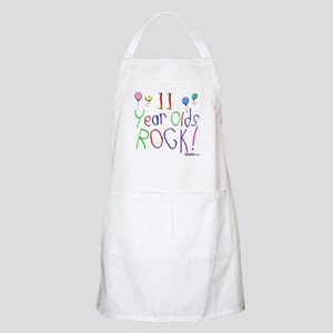 11 Year Olds Rock ! BBQ Apron