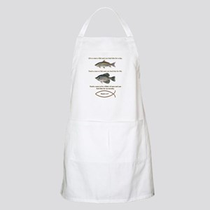 Go Fishing Christian Style Light Apron