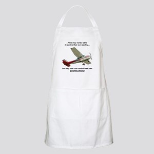 Pilots control their own destination BBQ Apron