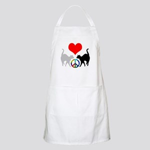 Love & peace BBQ Apron