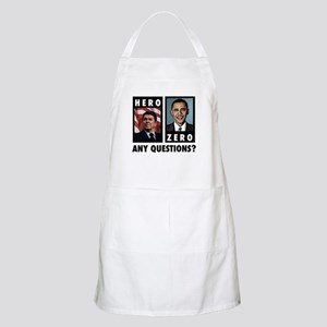Reagan HERO, Obama ZERO. Any Apron