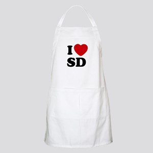 I Heart SD San Diego Grill Apron