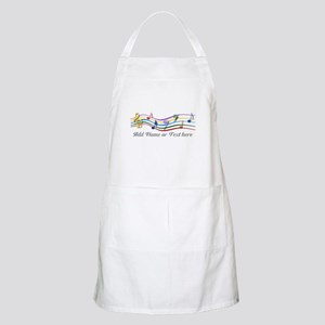 Personalized Rainbow Musical Apron