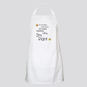 I'm right Apron