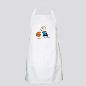 Basketballer Brown Apron