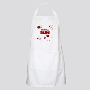 I'm on a run Apron
