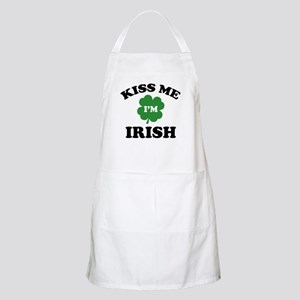 Kiss Me I'm Irish Apron