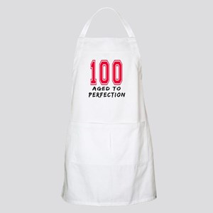 100 Year birthday designs Apron