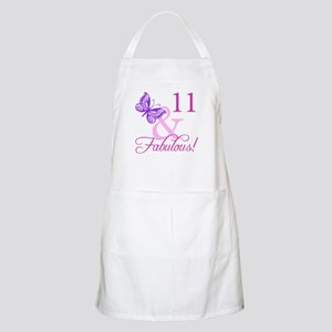 Fabulous 11th Birthday For Girls Apron