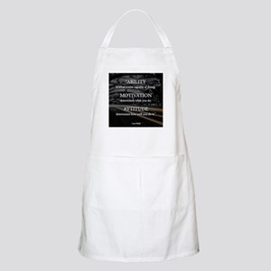 Ability Motivation Attitude Apron