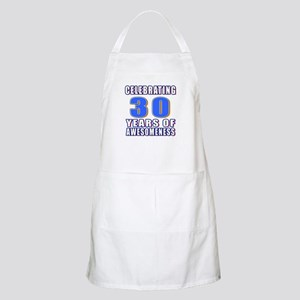 30 Years Of Awesomeness Apron