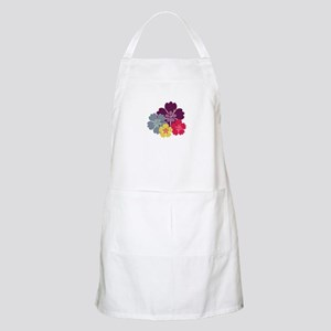 Colourful hibiskus flowers Apron