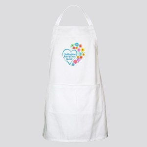 Goddaughter Special Heart Light Apron