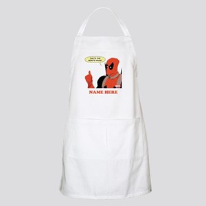Deadpool Nerds Name Personalized Apron