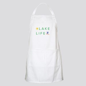 Inspiration quote - lake life Light Apron