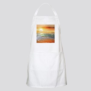 Tropical Beach Light Apron