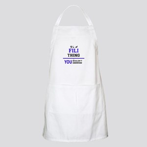 It's FILI thing, you wouldn't understand Apron