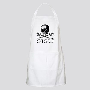 Sisu skull and crossbones BBQ Apron
