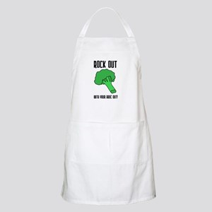 Broccolli vegetrian vegan BBQ Apron