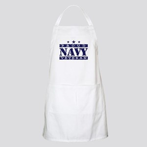 Proud Navy Veteran Apron
