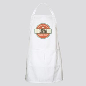 chemical engineer vintage logo Apron