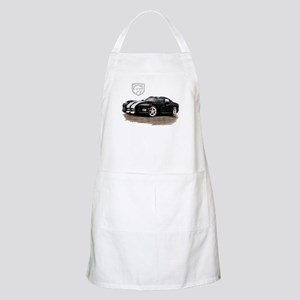 Viper Black/White Car BBQ Apron