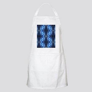 ikat blue tribal pattern Apron