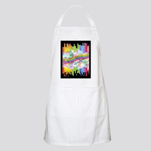 Colorful Musical Theme Apron