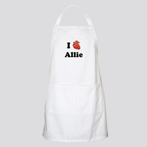 I (Heart) Allie BBQ Apron
