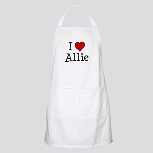 I love Allie BBQ Apron