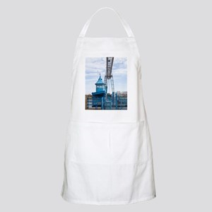 Historic Transporter Bridge, Newport, Wales Apron